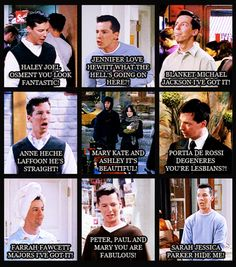will and grace. one of my favorite shows of all time! Best Tv Shows, Best Shows Ever, Movies And Tv Shows, Favorite Tv Shows, Tv Show Quotes, Movie Quotes, Funny Quotes, Grace Quotes, Portia De Rossi