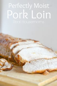 This pork loin is so simple to make and makes the house smell amazing!!! It's the perfect comfort food for fall!!