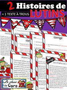 2 HISTOIRES DE LUTINS + Texte