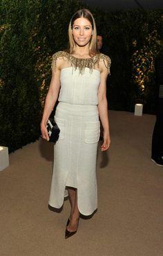 Jessica Biel em Chanel.