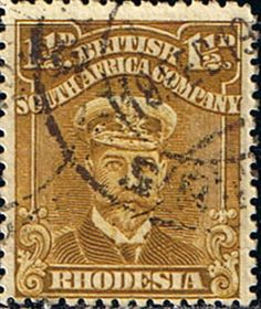 Rhodesia 1913 British South Africa Company Head SG 198 Fine Fine Used SG 198 Scott 121 Condition Fine Used Only one post charge applied on multipule