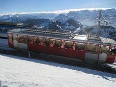 Cogwheel Train Mt Rigi, Lucerne, Switzerland