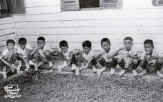 """""""Open wide, Brush inside"""" dental campaign for Singapore school children in Singapore School, Straits Settlements, Singapore Photos, School Children, Nostalgia, Campaign, Childhood, Chinese, Brushing"""