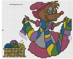 Mouse cross stich by syra1974