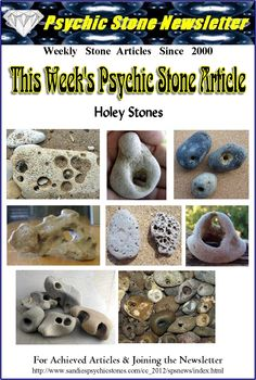 The Metaphysical Uses of Holey Stones: Are considered powerful protection stones that can be worn for personal protection from negative energies, and evil spell-work. Also, hang at doorways or windows to protect a home or business Too, hang near a pet's sleeping place to protect the pet.  To prevent nightmares, place a Holey Stone  in the sleeping place of the one who wishes to be free of nightmares.  Holey Stones are also said to be bringers of high psychic powers. These stones are…