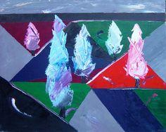 Galería Javier Román | Arnaldo | Chopos de invierno