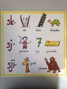 Teaching Reading, Teaching Kids, Barn Crafts, Swedish Language, Montessori Classroom, School Posters, Too Cool For School, Word Families, Communication Skills