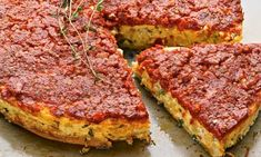 Yotam Ottolenghi - The new vegetarian: Ricotta tart  A savoury cheesecake that makes for a great light lunch