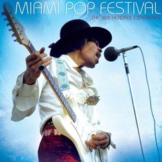 Jimi Hendrix Miami Pop Festival on Numbered Limited Edition 200g 2LP 1968 Sought-After Performance Never Available in Any Form Until Now, order today Mastered by Bernie Grundman & Pressed at Quality R
