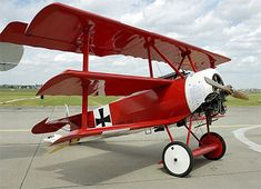 flown by Manfred von Richgthofen (The Red Baron)