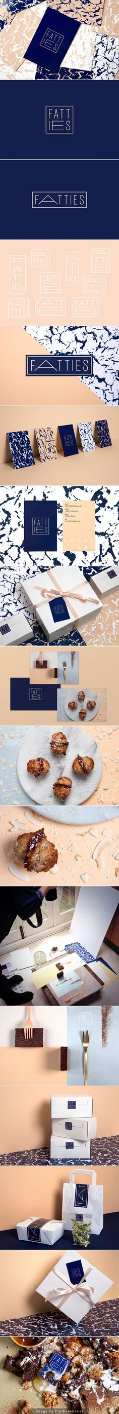 Fatties Bakery. Beautiful design, but not sure about the name though. #branding #identity #design (View more at www.aldenchong.com)