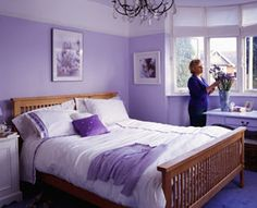 Another room with Lilac wall colors