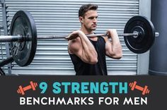 9 Essential Strength Benchmarks for Men List Of Bodyweight Exercises, Gym Workouts For Men, Fun Workouts, Fitness Exercises, Muscle Fitness, Gain Muscle, Build Muscle, Fitness Tips For Men, Mens Fitness