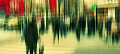 'City Life II' by Stephanie Jung. City Life in Akihabara, Tokyo Motion Blur Photography, Abstract Photography, Love Photography, Street Photography, Landscape Photography, Fashion Photography, Multiple Exposure, Double Exposure, Ansel Adams