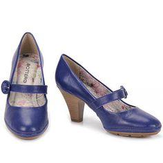 Sapato Scarpin Bottero Preto Passarela