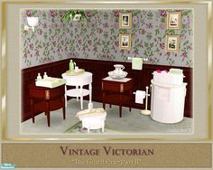 cashcraft's Vintage Victorian Decor
