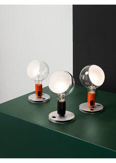Spur a bright idea with Lampadina, designed by Achille Castiglioni for FLOS.