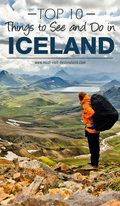 TOP 10 Things to See and Do in Iceland #iceland #travel                                                                                                                                                     More