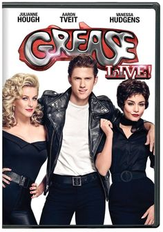 """#FOX enrolls at #Rydell High with #GREASE: #LIVE, a #LIVE one-night musical production of the massively popular crossover musical """"Grease."""" #GREASE #LIVE is based on the original 1971 musical #Grease and Paramount Pictures' 1978 feature adaptation starring #John #Travolta and #Olivia #Newton #John. #Grease #Live #DVD #TV, #Julianne #Hough, #Vanessa #Hudgens #GreaseLive"""