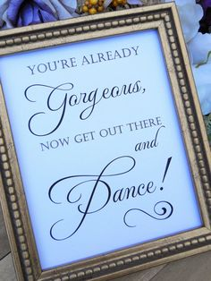 Wedding Sign FUNNY Wedding BATHROOM SIGN by MementoPaperCompany