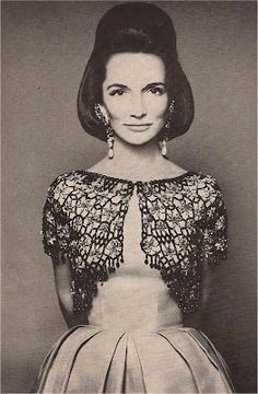 Lee Radziwill...LOVE her daughter in law, she is FABULOUS and Funny!