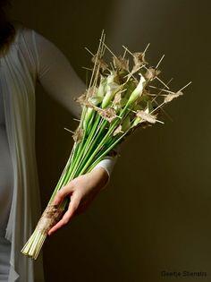 Wedding flowers - Geertje Stienstra, floral desiner - http://www.geertjestienstra.nl/bruidsbloemen/ - Zantedeschia-inspiration - Flower adventure