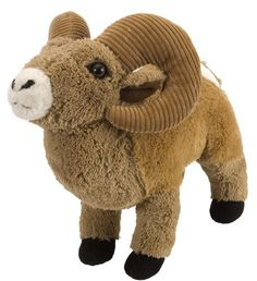 ITEM DESCRIPTIONS/INFORMATION:Title: 12' CK Bighorn Sheep Plush Stuffed Animal Toy - NewConditon:Brand New.Details:Measures 12' (Sizes are approximate.)Great item for a gift.Perfect for Collectors.Man...