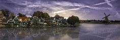 A Dutch Panorama - A Panorana of Zaanse Schans, Holland. Thank you so much for visiting!