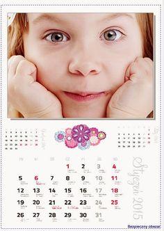 Fotokalendarz projekt izziBook.pl