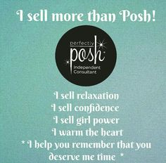 You deserve to be a Pampered Posh Momma!