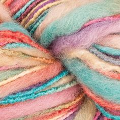 Fizzing with colour and texture, King Cole Bamboozle is a fabulous wool and bamboo yarn that knits up fast on 6mm needles for any of your chunky weight projects! Cardigans, jumpers and gilets, scarves and hats! Gorgeous colourways (we love 1135 Neopolitan!) that have been expertly blended with thick and thin textures to produce a yarn that is a riot of fun to knit!