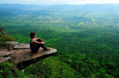 Seen here is a beautiful outlook point at Sai-Thong National Park in Chaiyaphum province, Thailand.