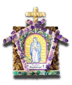 kit from Illuminated Ink but we could probably put together our own kits.   Marian Grotto Kit - Our Lady of Guadalupe