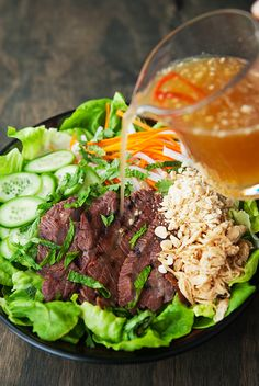 vietnamese grilled beef salad recipe | use real butter Can be clean with a few adjustments.