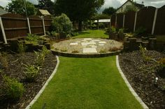 Garden Landscaped with a Modern Design - Landscaping.ie  Love the raised beds.