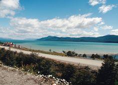 Lago Fagnano - Chamado de 'Descanso do Horizonte' pelos nativos, pois a linha imaginária do horizonte é onde está a Cordilheira dos Andes.