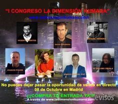 """""""I Congreso La Dimensión Humana""""  El próximo 08 de Octubre en el Hotel Ilunión Pío XII te es ..  http://madrid-city.evisos.es/i-congreso-la-dimension-humana-id-696081"""