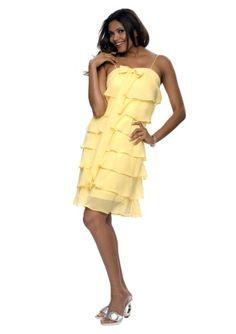 Une robe à volants pour virevolter en cadence