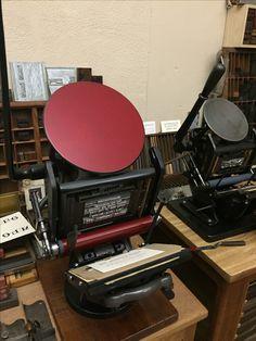 Letterpress Machine, Letterpress Printing, Offset Printing, Printing Press, Letter Press, Typography, Lettering, Antique Prints, Bookbinding