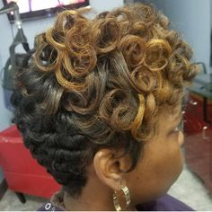 Short Curly Pixie, Curls, Dreadlocks, Hair Styles, Beauty, Hair Plait Styles, Hair Makeup, Hairdos, Haircut Styles