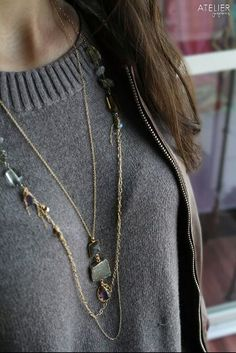 Layering Necklaces by Atelier Gaby Marcos