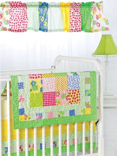Quilting - Patterns for Children & Babies - Pieced Quilt Patterns - Bright & Charming Baby