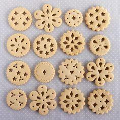 Galletas de encaje (Doily Biscuits) http://ifeelcook.es/galletas-de-encaje-doily-biscuits/
