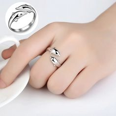 Dolphin Engagement Rings Cute Dolphin Rings  Price: 11 & FREE Shipping  #fashion #womensfashion #happy #style #nature #animals #girls #beauty #love #womens #flowers #babies