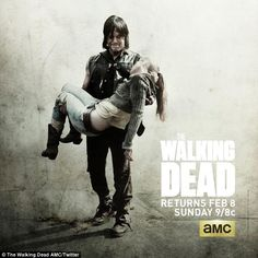 Too soon: Right after the end of Sunday's episode in the eastern United States, AMC posted a spoiler-filled image to the official Walking Dead Facebook page