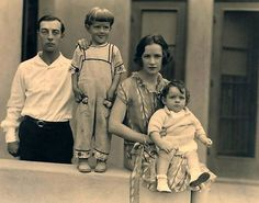 Buster, Jim, Natalie and Bobby