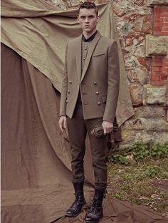 Balmain Menswear Fall/Winter 2014 Collection