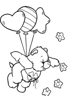 Care Bears Coloring Sheets - Care Bears Coloring Pages : KidsDrawing – Free Coloring Pages Online