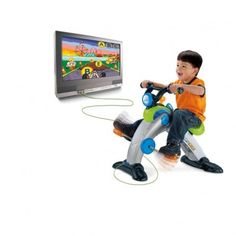For Toddlers & Big Kids:Fisher-Price SMART CYCLE Racer Physical Learning Arcade System Appropriate for: Ages 3-6 years