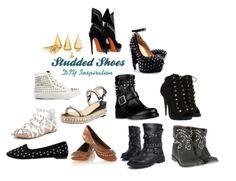 DIY Studded Shoes #summer #shoes #diy #4ways